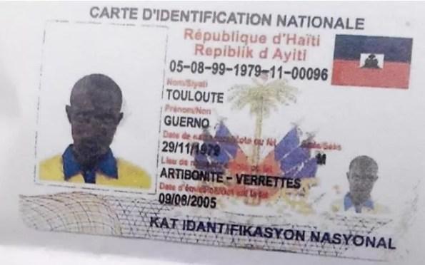 Haitiano asesino