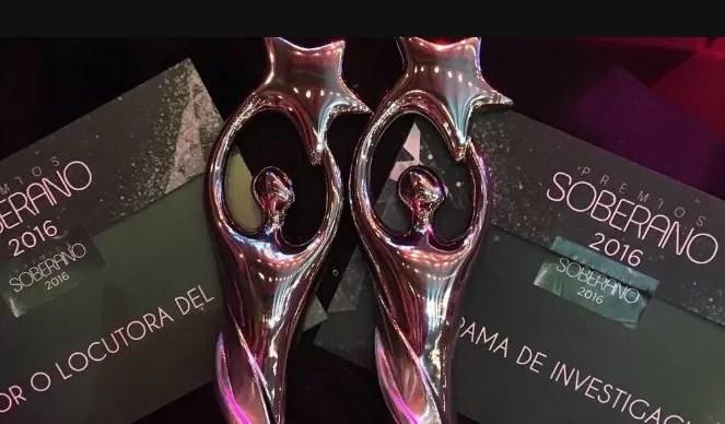 Ganadores de Premios Soberano 2016