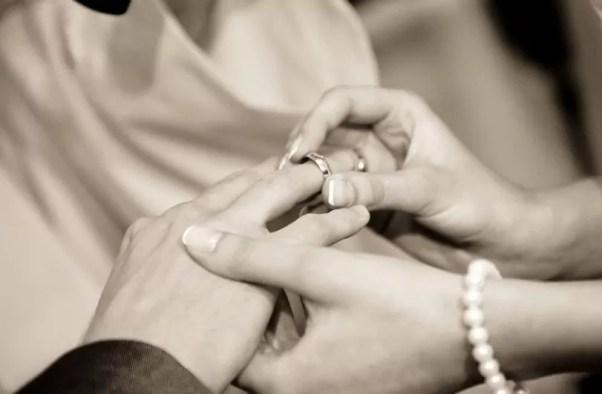 Boda anillo