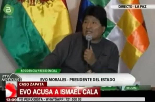 Evo Morales PTE