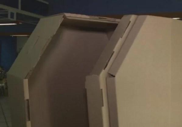 Ataud de carton