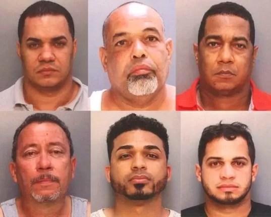 Dominicanos arrestados