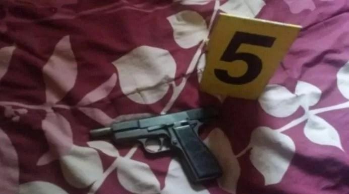 Pistola muerte