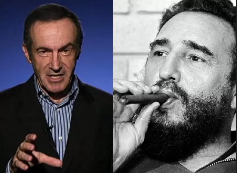 Fidel Castro fue todo menos un valiente