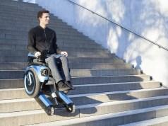 Resultado de imagen para Una silla de ruedas que puede subir fácilmente por las escaleras