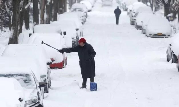 EEUU tiembla de frío ante gélido clima invernal