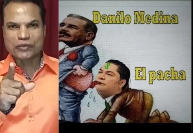 Suspenden a Mamola en Telemicro por meme en el que se burla del Pachá y Danilo Medina