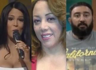 """Locutor califica de """"Golpe bajo"""" el ataque de La Tora a Caroline Aquino"""