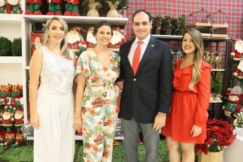 Yill Odreman, Annette Álvarez, Miguel Ángel Fernandez y Jennifer Terrero