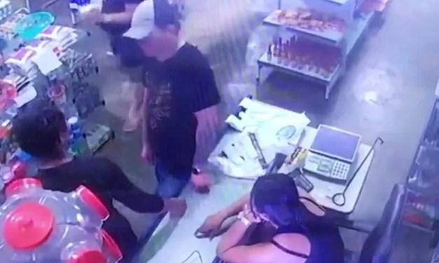Video: Un hombre intenta matar a su pareja pero la pistola le falla 4 veces