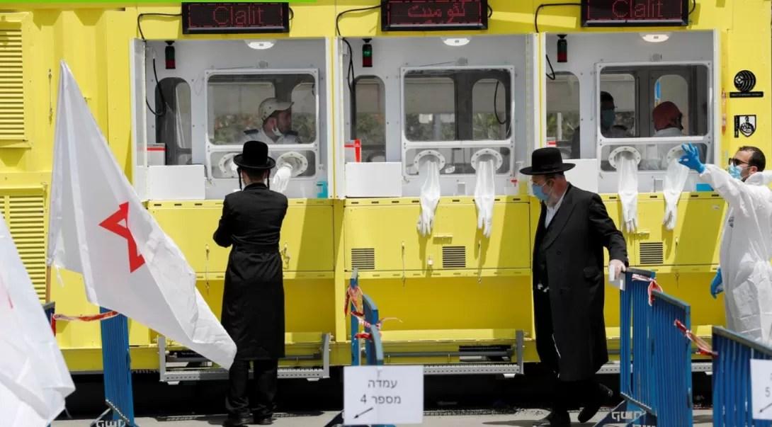 Récord de contaminaciones diarias por coronavirus en Israel