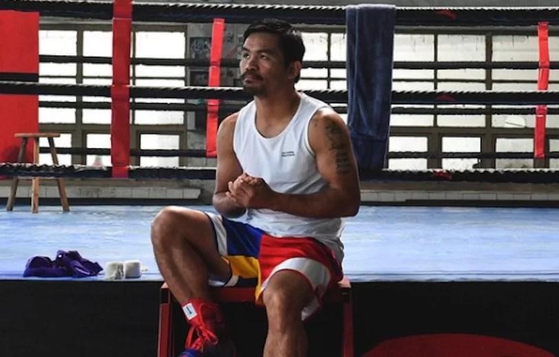 """Pacquiao está en """"las etapas finales"""" para cerrar combate ante Garcia"""