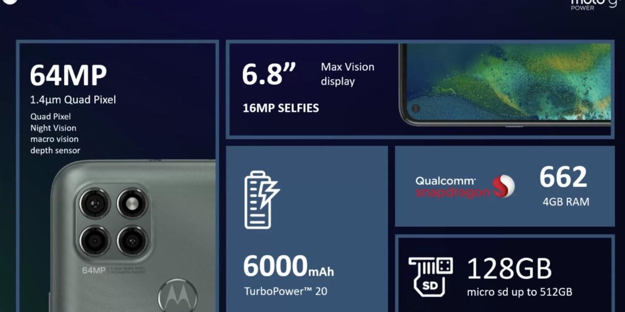 Claro y Motorola presentan moto G9 Power