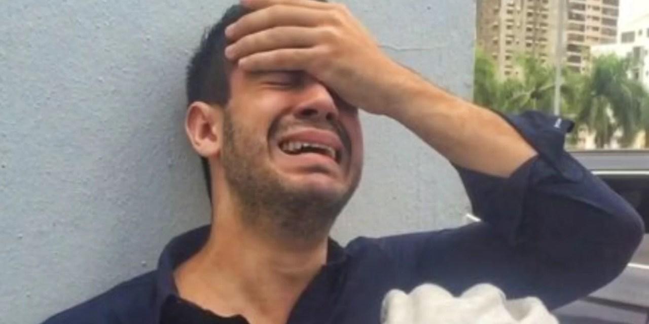 Carlos Durán se calentó de mala manera
