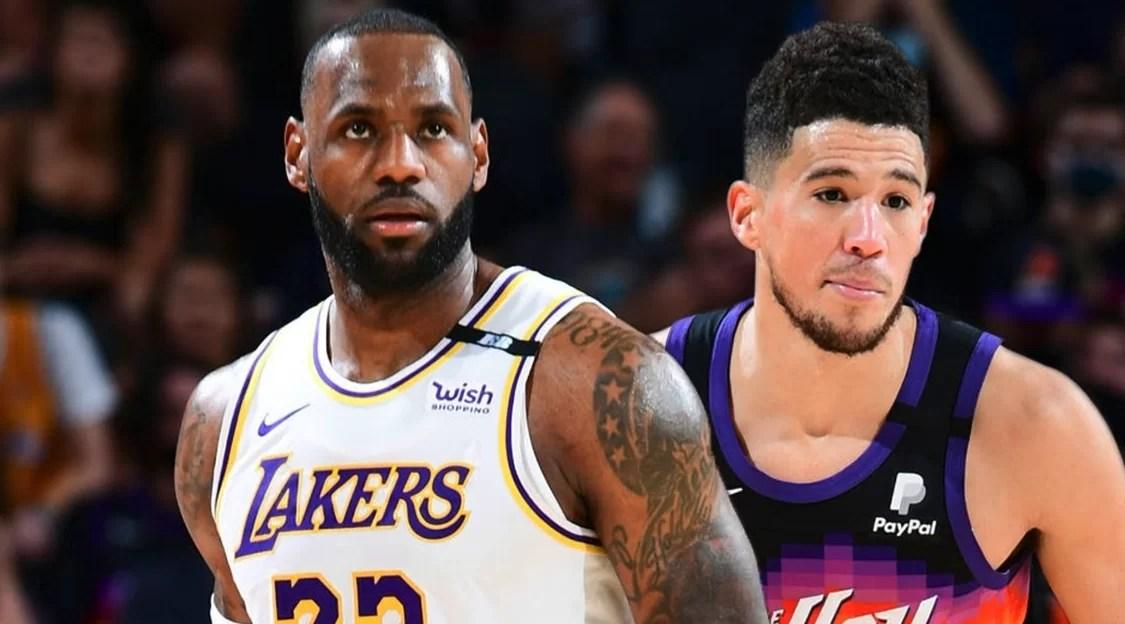 Booker y sus Suns golpean primero a Lakers en arranque de su serie de playoffs