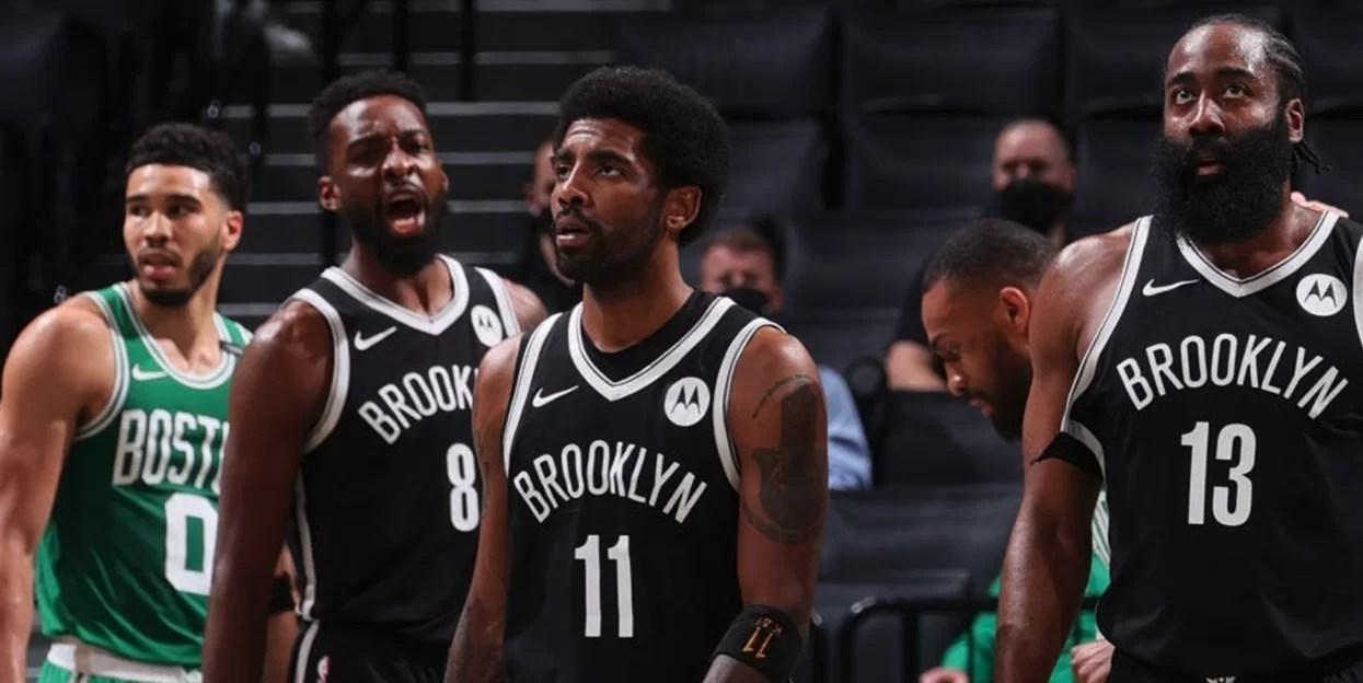 El 'Big 3' de los Nets comanda primer triunfo ante Celtics en playoffs