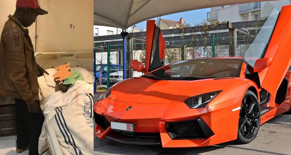 Ayunó durante más de un mes para que Dios le regalara un Lamborghini