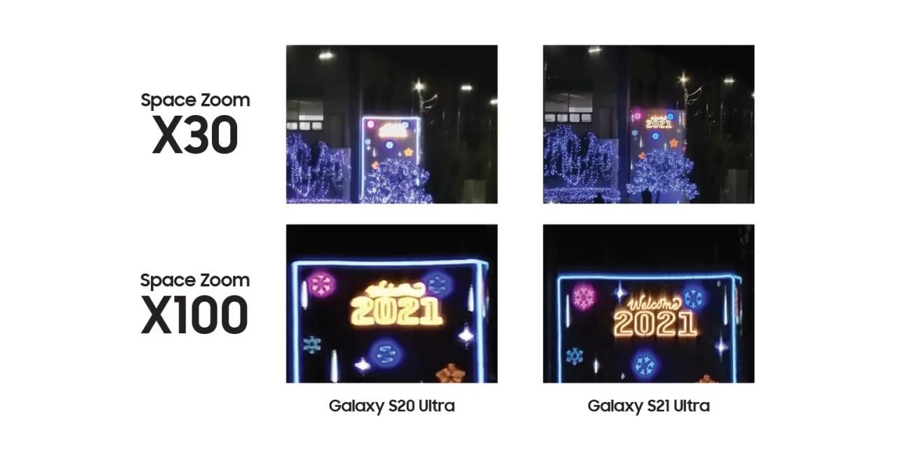 La inteligencia artificial mejora la fotografía nocturna del Galaxy S21