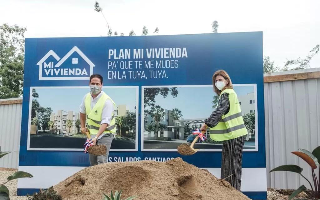 """Dan primer palazo para iniciar el """"Plan Mi Vivienda"""" en Santiago"""