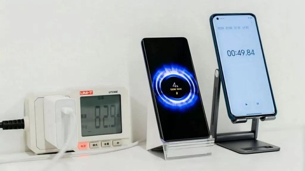 Un celular que carga su batería en 8 minutos