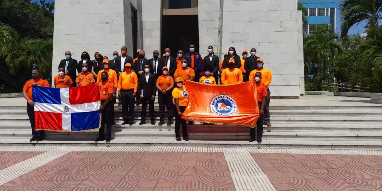 Defensa Civil conmemora 55 años de fundación