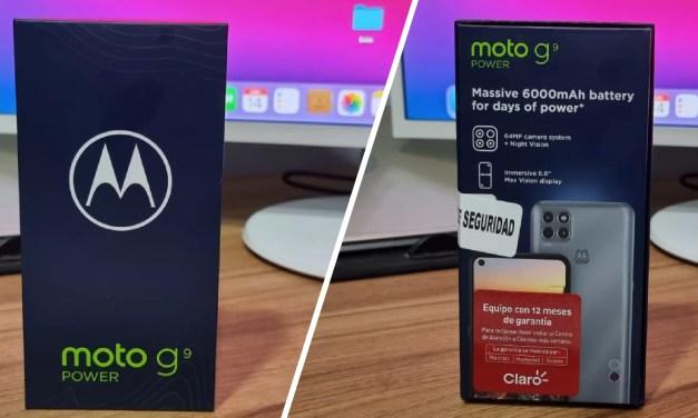 Ensegundos te regala un Motorola G9 Power
