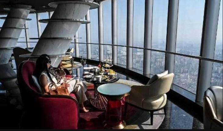 El hotel más alto del mundo abre en Shanghái