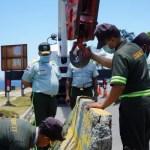 DIGESETT coloca muros en el Malecón para evitar accidentes de tránsito