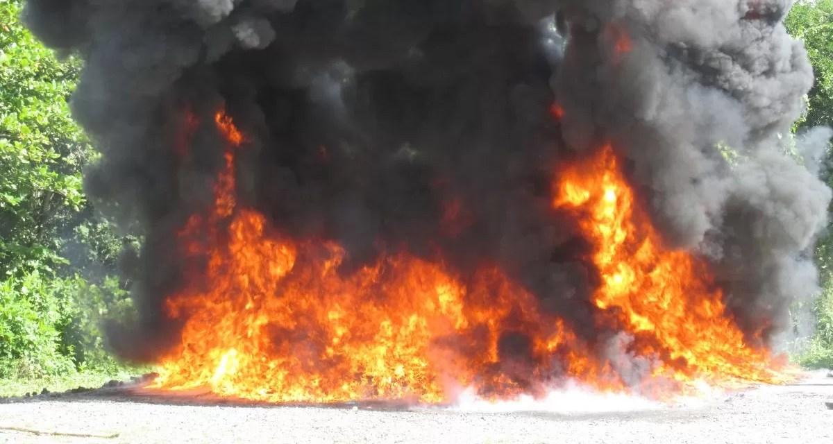 La Procuraduría incinera otros 180 kilogramos de drogas confiscadas en varios lugares