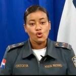 La nueva vocera de la Policía Nacional