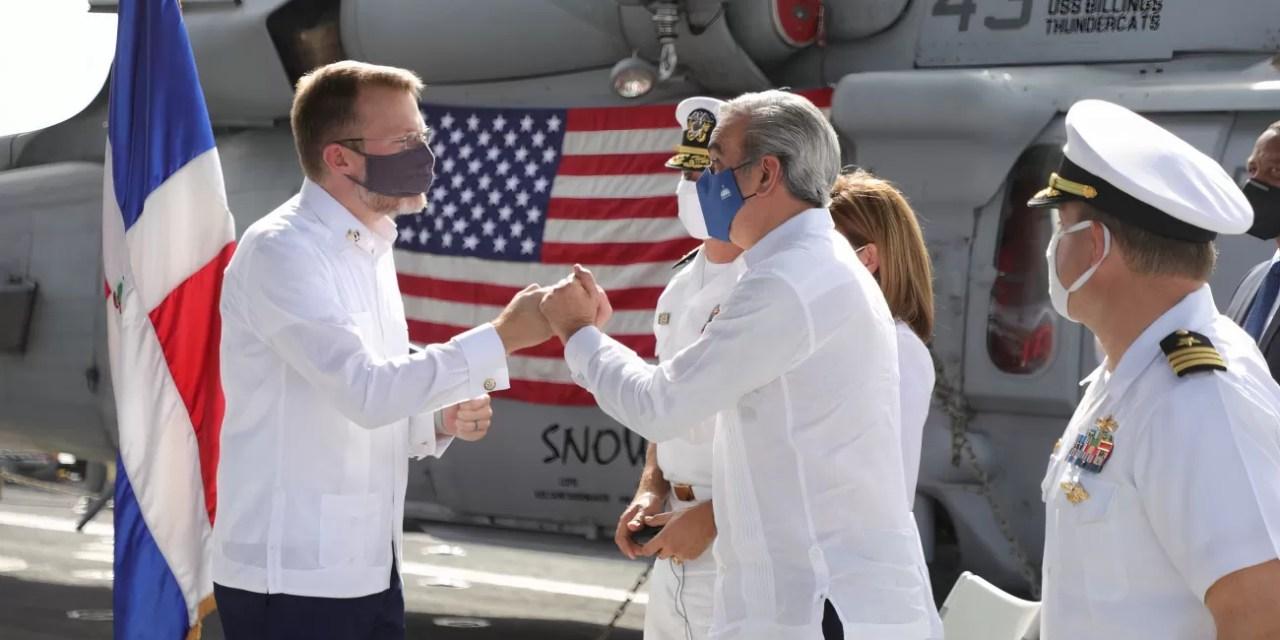Se sigue fortaleciendo relaciones entre RD y EE. UU.
