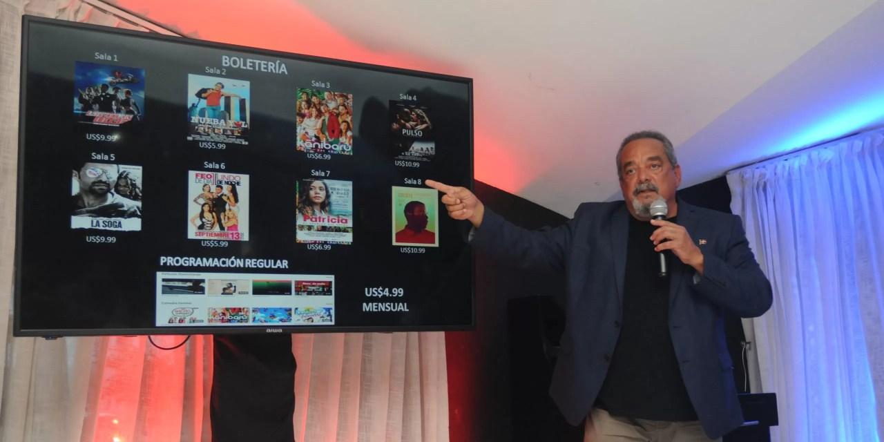 Pelidom con estrenos en sala de cine virtual