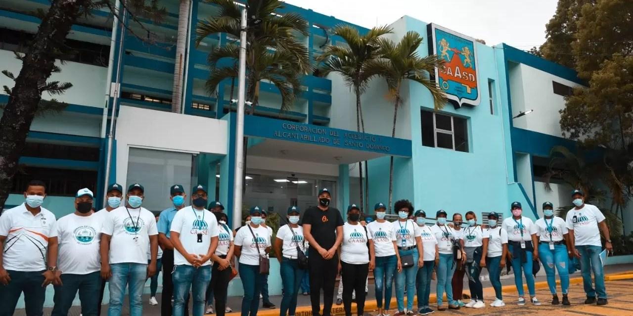 CAASD se une a masiva jornada de vacunación contra COVID-19 en Santo Domingo Norte