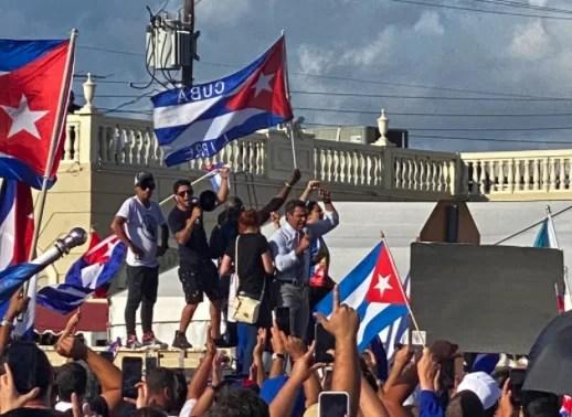 Cuba, sacudida por manifestaciones contra el gobierno