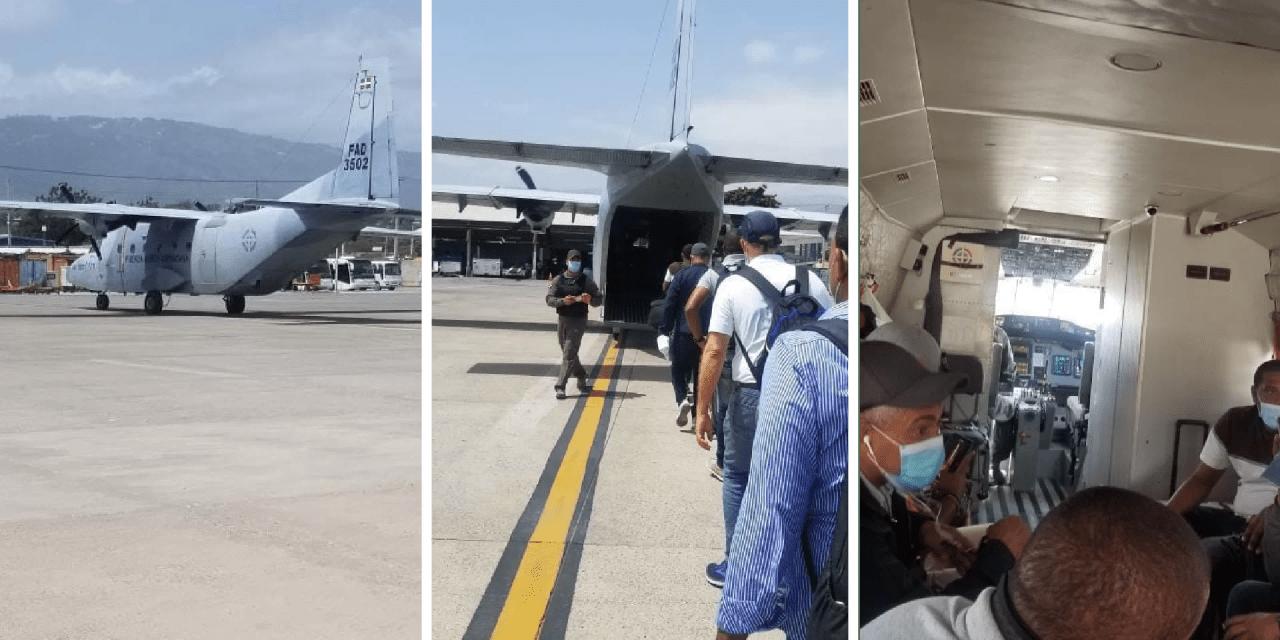 Personal diplomático de RD se alista para salir de Haití en avión de la Fuerza Aérea