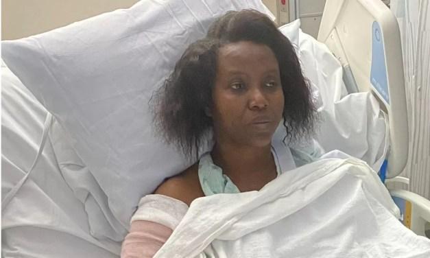 Martine Moïse comparte foto desde hospital