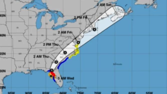 Elsa se degrada a tormenta tropical antes de tocar tierra en Florida
