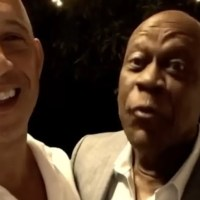 Vin Diesel rinde homenaje a Johnny Ventura