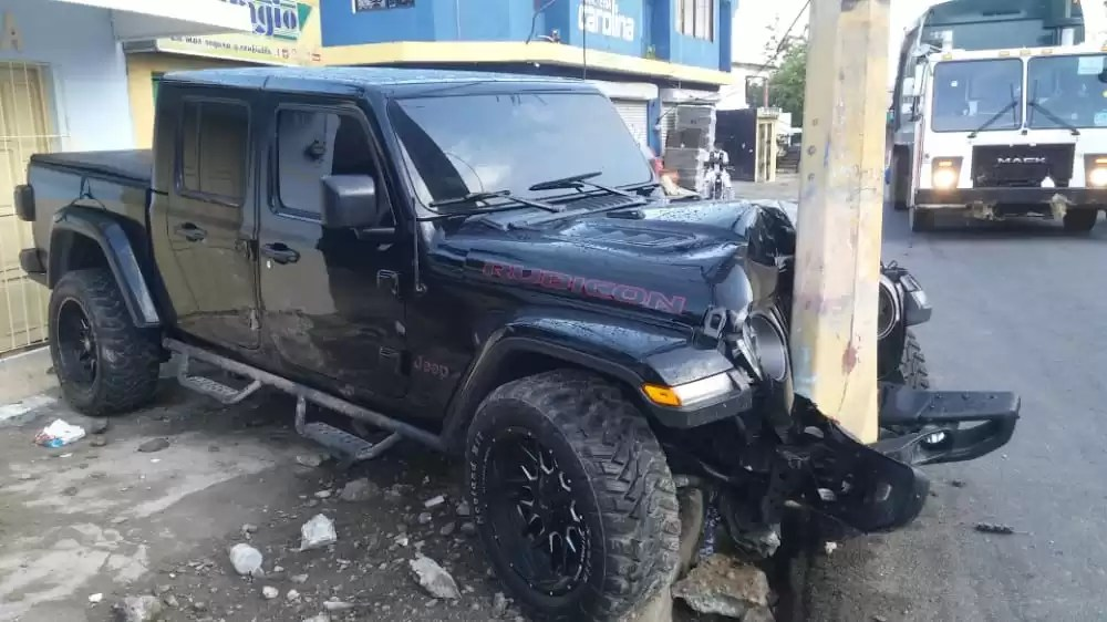 Video – Así quedó el Jeep