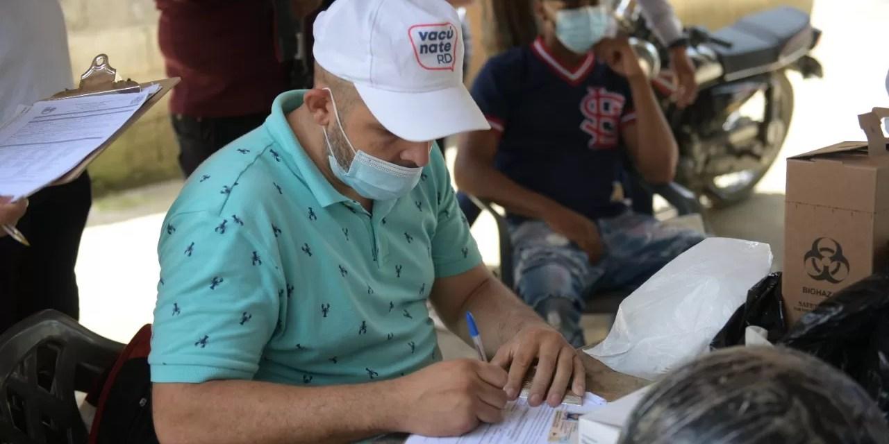 Provincia Hermanas Mirabal ya se acerca a la meta del 70% de vacunados con dos dosis