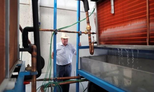 La máquina que produce agua 'de la nada'