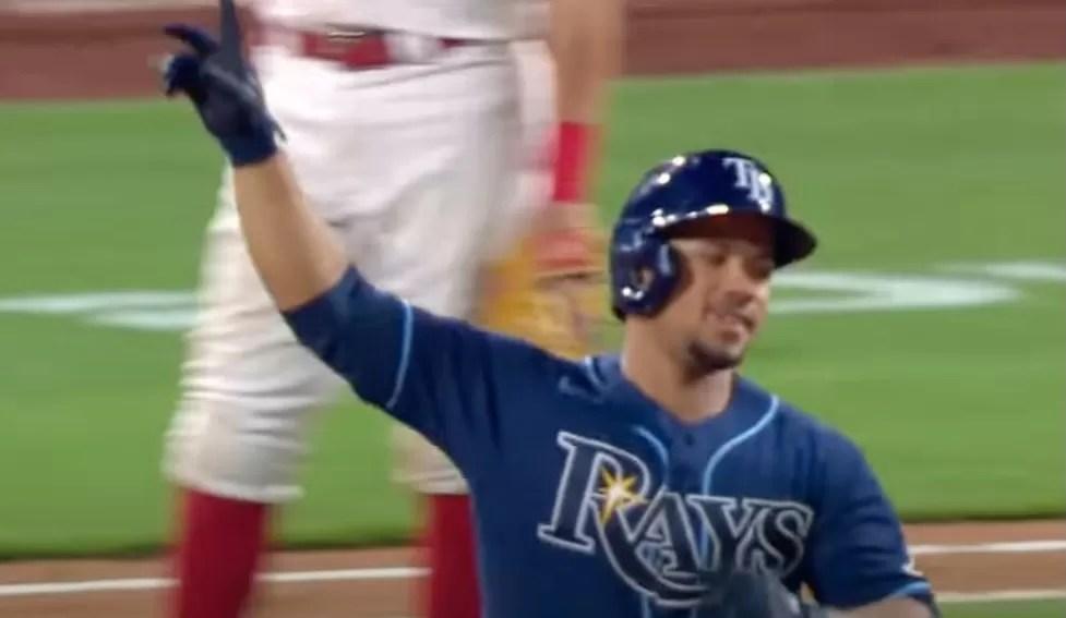 Francisco Mejía  mantiene a Rays en lo alto de la Liga Americana
