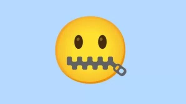 WhatsApp: El significado de la carita con zipper en la boca