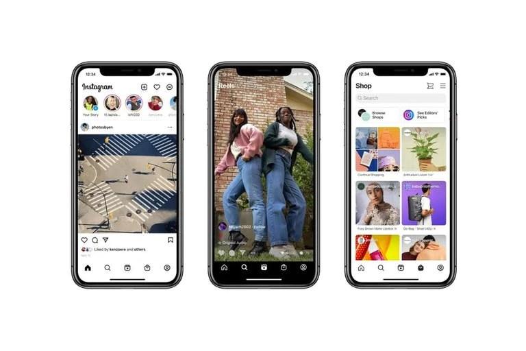 Instagram introdujo publicidad a su pestaña dedicada a compras