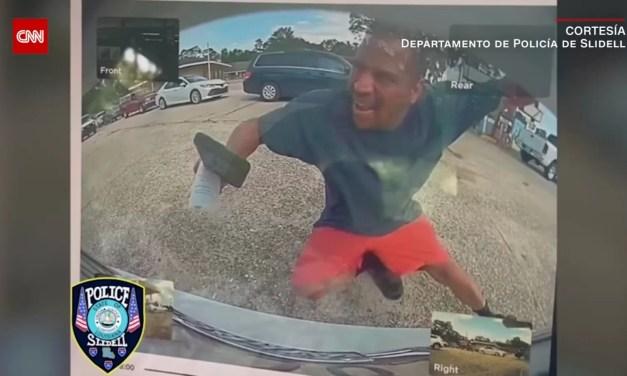 Video – Cámara de un Tesla graba hombre que fingió ser atropellado
