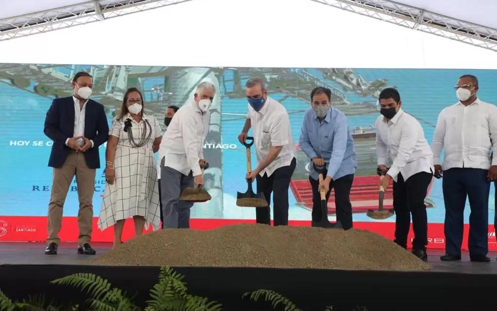 Presidente Abinader deja inaugurados los trabajos de construcción del Teleférico en Santiago