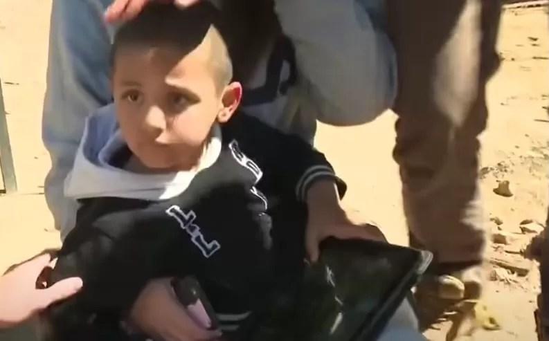 Niño de tres años sobrevive tres días solo en el desierto australiano