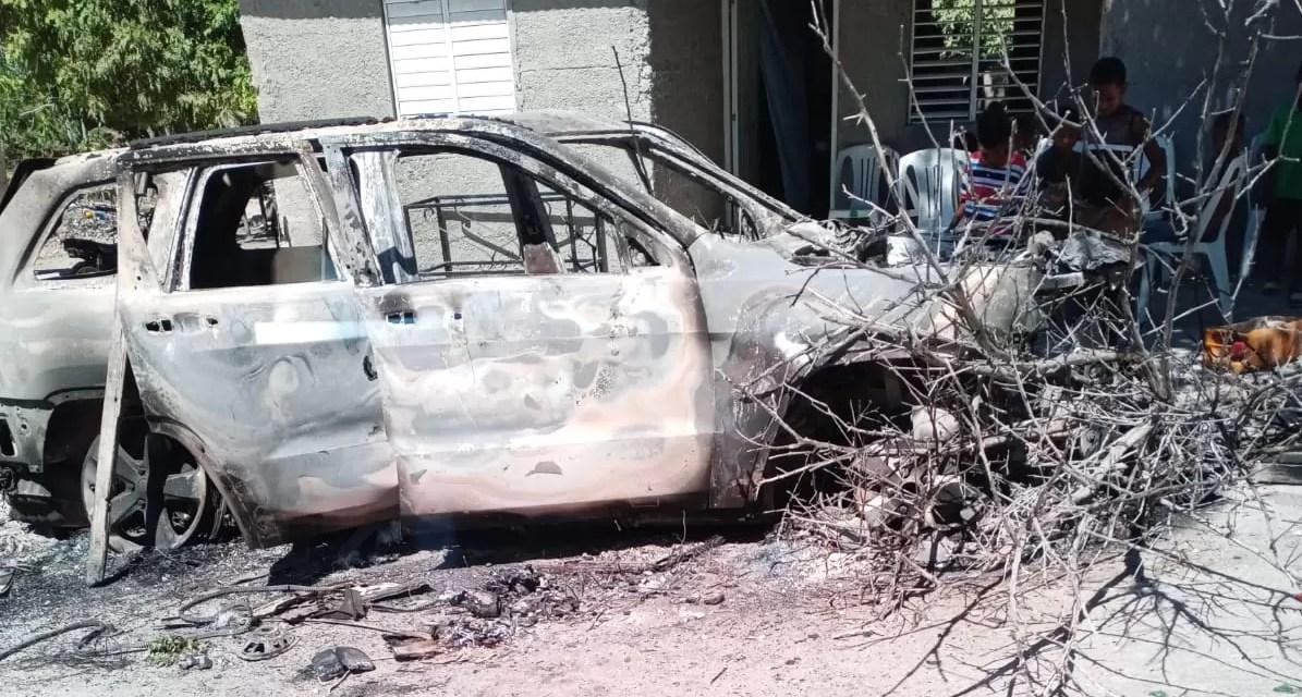 Matan joven y en represalia incineran vehículo de presunto agresor