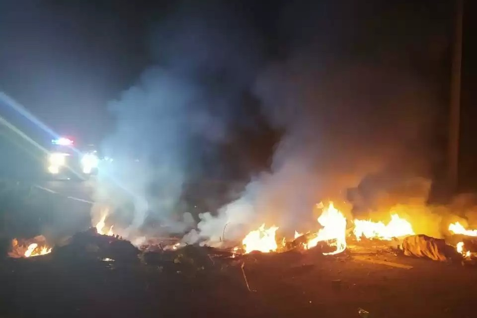 Protestas en Hato Mayor por falta de energía eléctrica