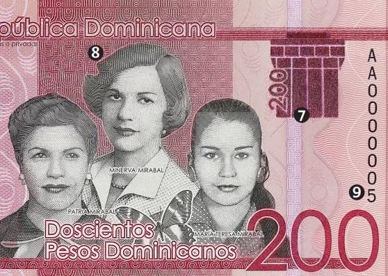 Nuevo billete de RD$200